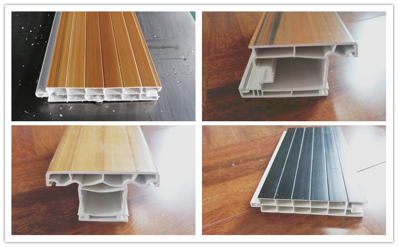 PVC window profiles making machine
