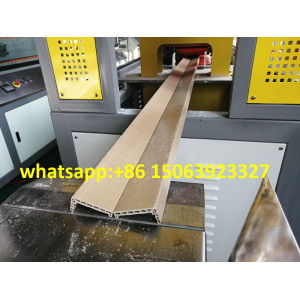 wpc solid door frame machine PVC window and door profile extrusion machine WPC door making machine