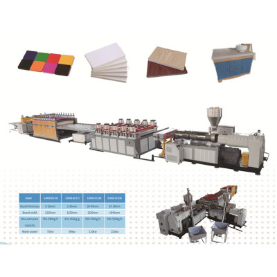 celuka foam board machine / pvc foam board extrusion machine