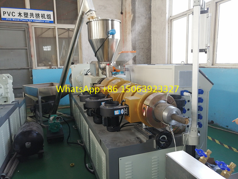 WPC granulation machine
