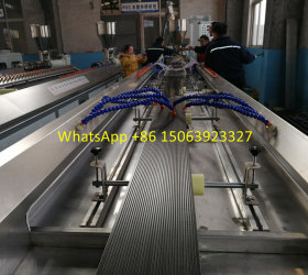 Small PE WPC project making machine at the capacity at 1700kg/h