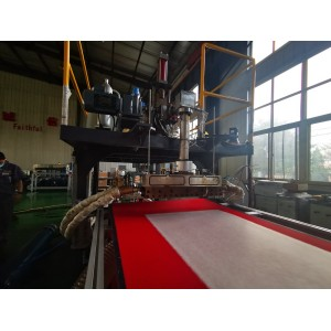PP Melt blown non woven fabric extrusion machine PP melt blown fabric machine