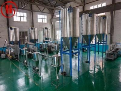 Параллельная двухшнековая экструзионная линия для произвощдства гранулов из ПЭ ДПК