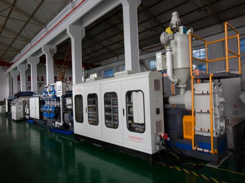 Экструзионная линия для производства сотового листа из ПП