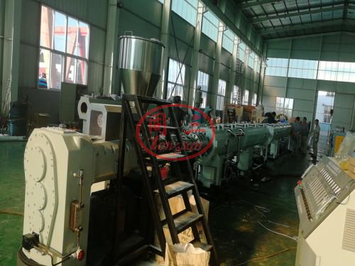 Machine de fabrication de pipe en PVC pour le drainage d'eau