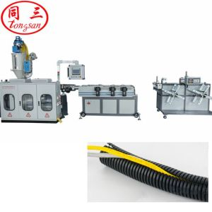 16-50mm PP PE PVC Plastic Single Wall Corrugated Pipe Hose Manufacturing Machine