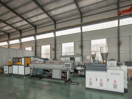 Machine de production de tuyaux en PVC de 315 à 500 mm