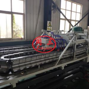 Оборудование для производства двухстенных гофрированных труб из ПВХ