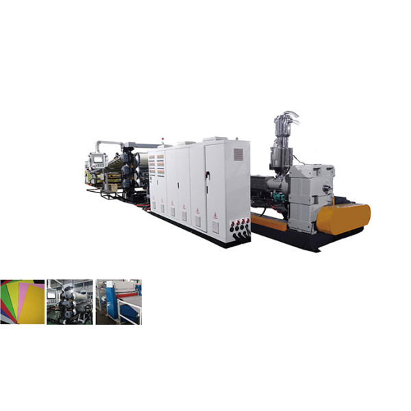 TS-1100mm PP PE ABS HIPS PMMA Plastic Sheet Extrusion Machine making Plastic multi-layer plates