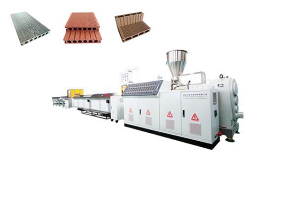Экструзионная линия для производства террасной доски из ПЭ ДПК