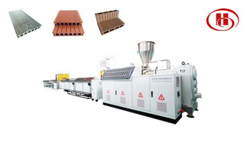 Со-экструзионная линия по производству наружных отделочных материалов из ПЭ ДПК