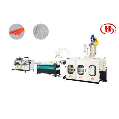 PP PE PVC PA Tuyau ondulé en plastique faisant la machine