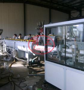 160-315mm grand diamètre Machine de fabrication de tuyaux en PVC d'approvisionnement en eau
