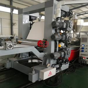 600mm PVC edge banding sheet extrusion machine line for making furniture edge banding