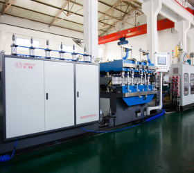 Twin wall Hollow Plastic PP Corrugated Board Flexo Plate Making Machine