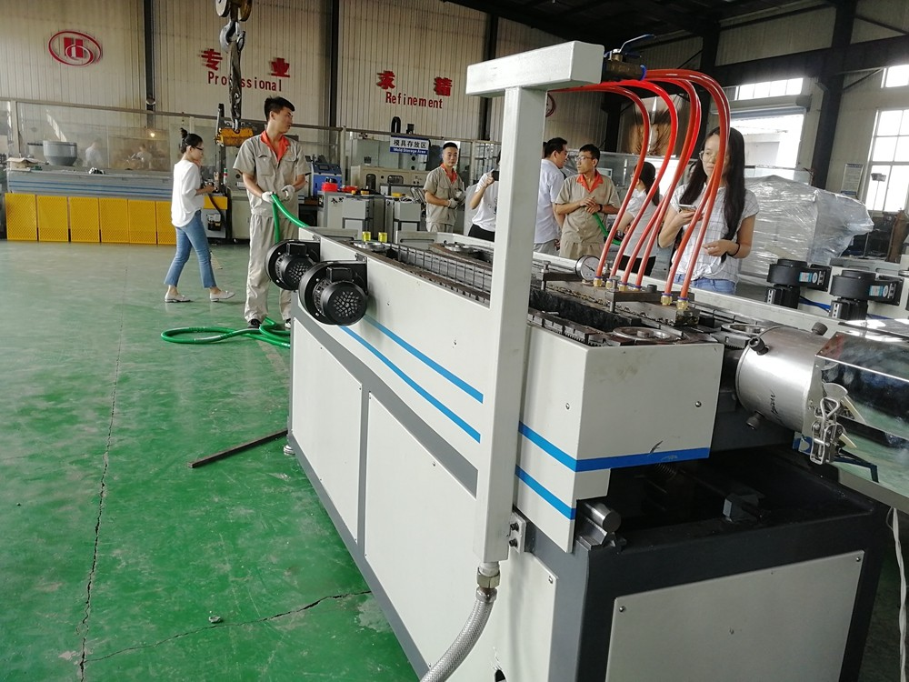 Compromise Joint Plastic Single Wall Corrugated Pipe Extrusion Line