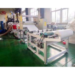 600 mm PP meltblown fabric manufacturing machine /melt blow fabric making machine
