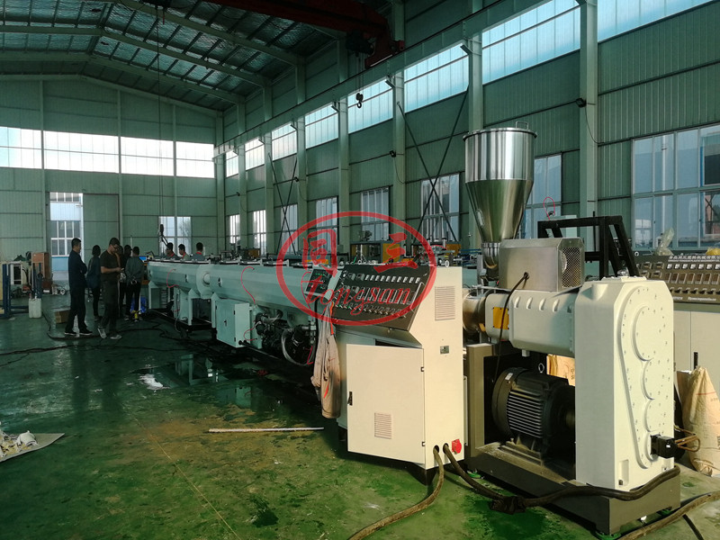PVC pipe manufacturing machine