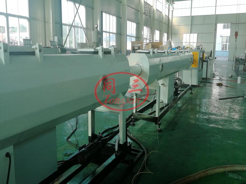 PVC pipe cooling tank