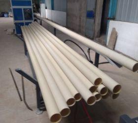 50-160mm PVC CPVC UPVC Pipe manufacturing machine Plastic Pipe Making Machine manufacturer
