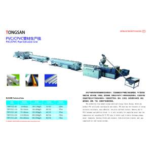 160-315mm Waste Water Drainage PVC Pipe Extrusion Machine Line Plastic Pipe Machine Manufacturer