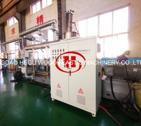 Recycled PP PE Plastic and Wood Powder Composition WPC Granulation Machine Wood Plastic WPC machine