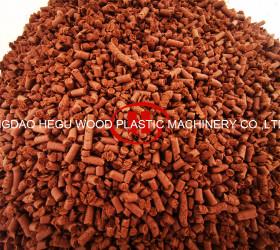 WPC Granules Extrusion Machine Line Wood Plastic WPC machine PP PE WPC profile Machine