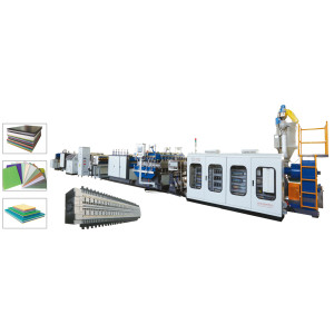CE certificated PP Hollow Coroplast Corrugated Sheet Extrusion Machine Plastic Hollow Sheet Machine