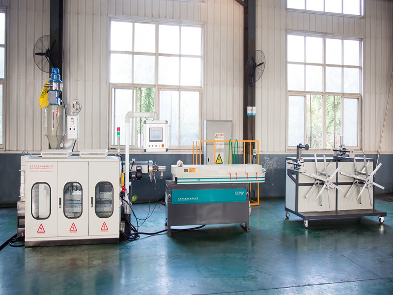 High speed Plastic Single Wall Corrugated Pipe Extrusion Line