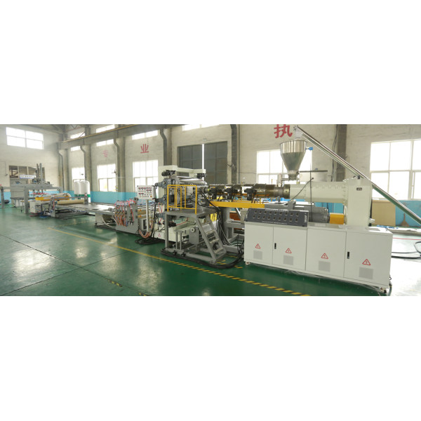 TS-2000mm PP PE PVC WPC Sheet Plate Extrusion Machine Plastic sheet Machine Manufacturer