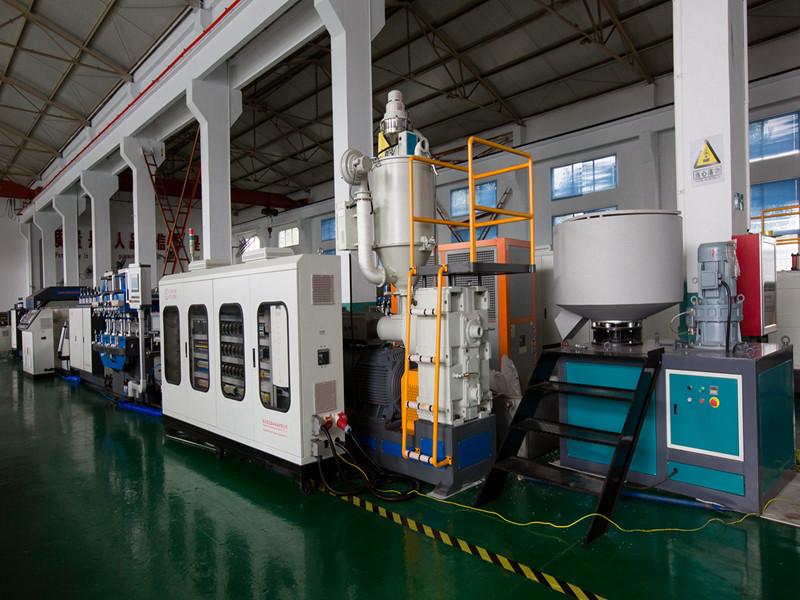 Tongsan Plastic Corrugated sheet machine