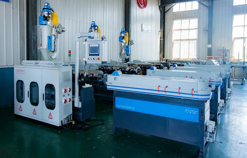Tongsan corrugated pipe machine