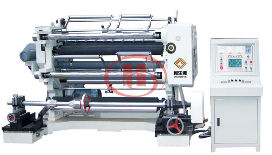 PVC film splitting machine