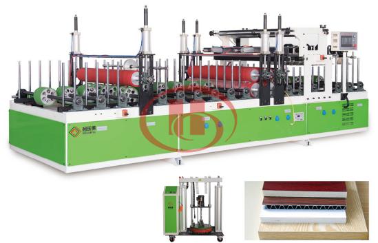 Machine de fabrication de porte de WPC