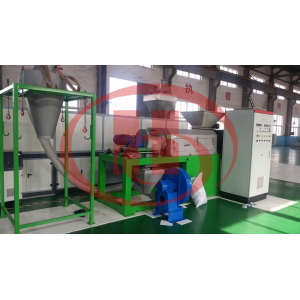 Plastic film recycling machine with drying and granulation machine Plastic wastage recycling machine