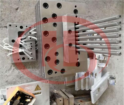 Ligne de production de plate-forme WPC de co-extrusion