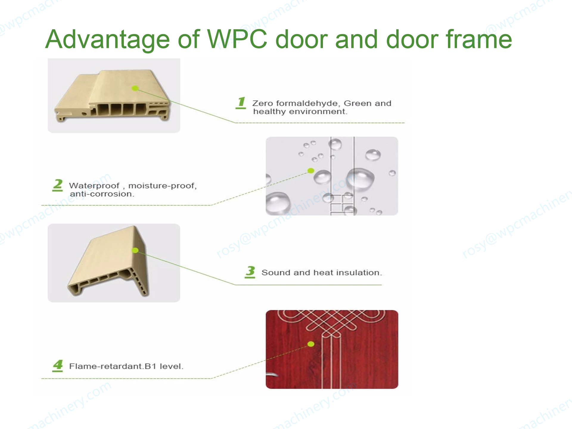 advantage of wpc door and door frame
