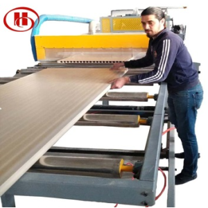 PVC and wood Composition WPC hollow door board making machine