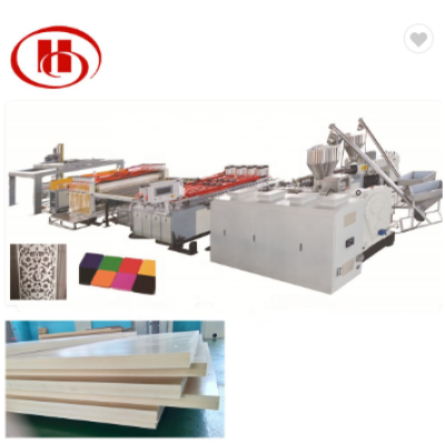 Solid WPC door board making machine PVC WPC foam board extrusion line