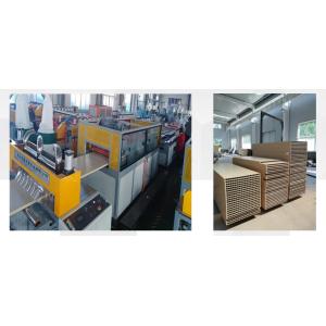 Wood plastic door panel extrusion machine turnkey project for PVC WPC doors WPC door making machine