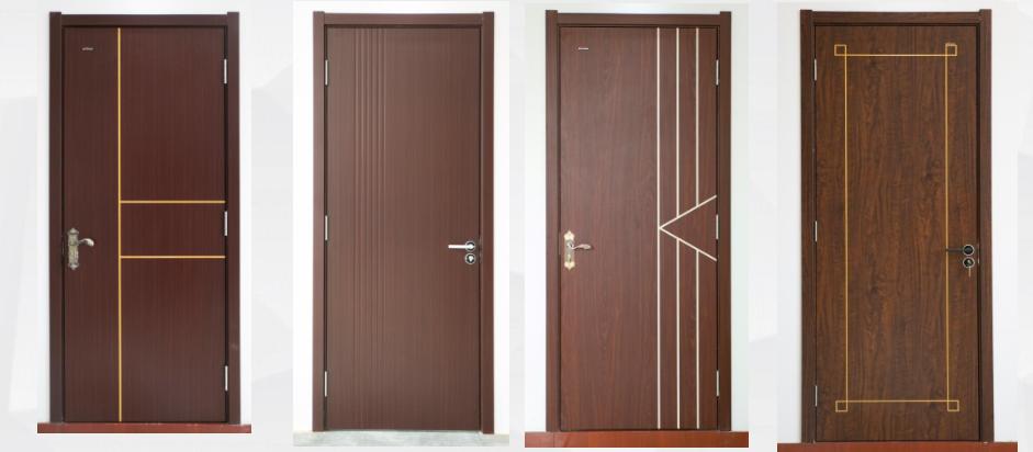 The paint-free wpc door