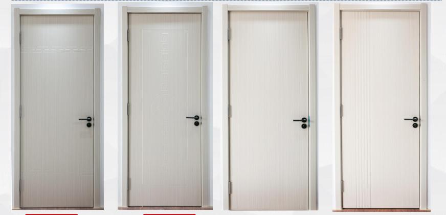 The paint wpc door