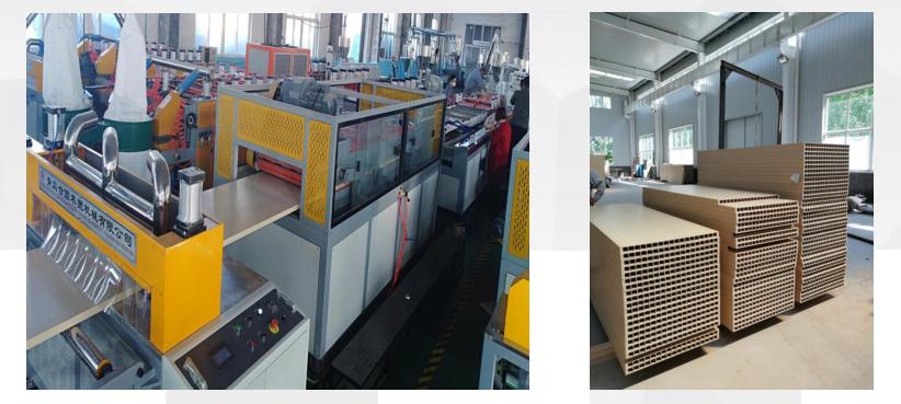 WPC door panel production line