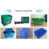 Tongsan PP Corrugated Box Cutting Printing Manufacturing Machine Plastic Hollow Sheet Machine