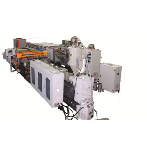 Co-extruder environmentally friendly PP PE PC Plastic corrugated sheet equipments manufacturer in China