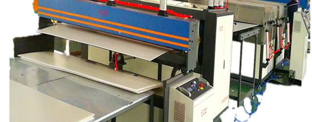 plastic hollow sheet making machine