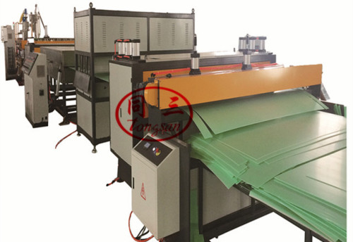 Plastic Corrugated Board Box Sheet Making Machine Price In China