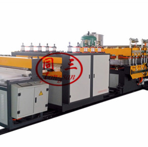 Plastic Hollow Board Making Extruder Machine for ESD Turnover Recycle Case Transfer Containerbarrel Pass Box