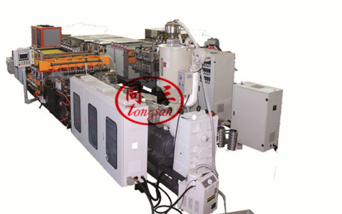 Plastic Hollow Sheet Making Extruder Machine for layer pads  boxes tray advertising printing sheet