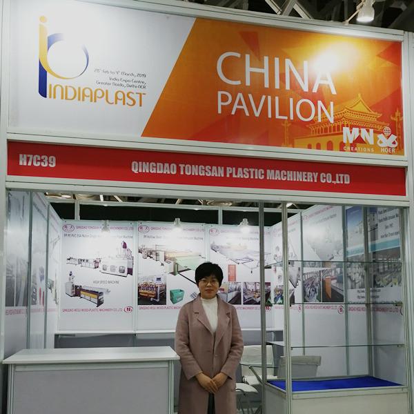 IndiaPlas PP hollow corrugated sheet machine